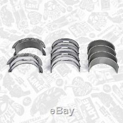 Hk0194 Crankshaft + 4x Connecting Rods + Connecting Rods Main Bearing Axial Mercedes Sprinter