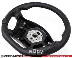 Leather Steering Wheel Steering Tuning Black Mercedes Vito, Viano W639