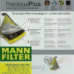 Liqui Moly 10 Litre 5w-30 Oil - Mann-filter Set For Mercedes-benz Viano W639