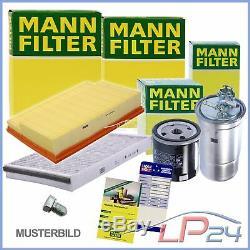 Mann-filter Revision Kit B Mercedes Vito W-639 110-116 CDI