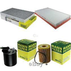 Mann-filter Set Suspension Mercedes-benz Viano 3.0 CDI W639 Vito / Mixto