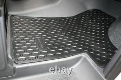 Mercedes Benz Original Rubber Paillassons W 639 Viano/vito Lhd Complete Nine
