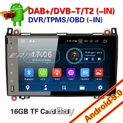 Mercedes Benz Viano Car Android 9.0 W639 W169 W245 A B Tnt Dab + Tpms 94992