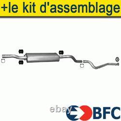 Mercedes Viano Vito 639 2.0 2.2 2003- Silencer+ Exhaust Line