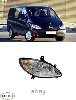 Mercedes Viano/vito W639 2003 2010 New Headlight Front Right O/s Lhd