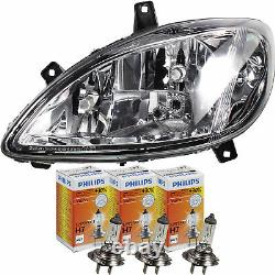 Mercedes Vito 09.03- H7/h7/h7 Left-hand Headlight Without 8d9 Engine