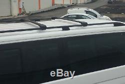 Mercedes Vito Extra Long 2003+ Roof Rails And Cross Bars Aluminiu