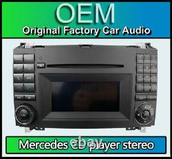 Mercedes Vito Radio Stereo Bluetooth Player Cd, W639 Mf2830 A1699002000