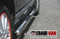 Mercedes Vito Van Viano Chrome Lateral Handlebar Pas B2 Stainless Steel Ex