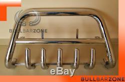 Mercedes Vito / Viano 2004-2010 Bull Bar Down With Protective Grid Inox