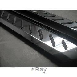 Mercedes Vito / Viano W447 2015- Stainless Steel Step Stool, Anti-slip Lamella, Medium