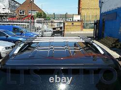 Mercedes Vito Viano W639 Lockable Cross Bars Roof Rack 90 KG Capacity X3