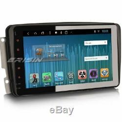 Octa-core Android 8.1 Gps Dab + Car Radio C / Clk W203 W209 Viano Vito Tnt