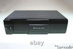 Original Mercedes Audio 10 Be3100 Becker Cassette Autoradio With CD Changer