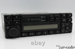 Original Mercedes Exquisite Be1491 Becker Cassette Radio Radio 07 A0038203586