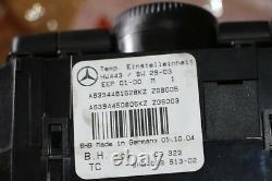Original Mercedes W639 Vito Viano Control Device Heating Air Conditioning