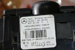 Original Mercedes W639 Vito Viano Device Control Heating Air Conditioning