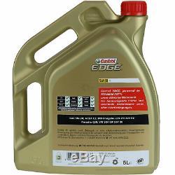 Review Filter 10l Castrol 5w30 Oil For Mercedes-benz Vito Bus W639