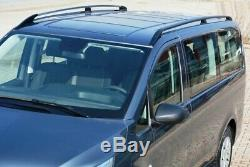 Roof Rails Mercedes V Extra Long W447 Starting Year 2014 Black With Tüv