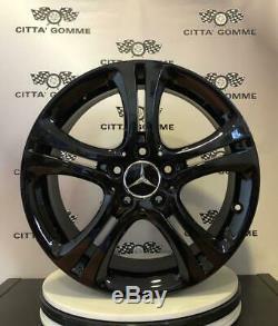 Set 4 Alloy Wheels Originali Mercedes Class A B V Viano Vito 17