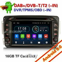 Tnt Radio Android 9.0 W203 W209 W639 W463 Viano Vito Dab + 4963