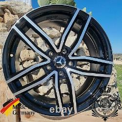 Trbp Set 4 Alloy Wheels 17 X Mercedes Gla X156/245g H247+ Glb Amg All