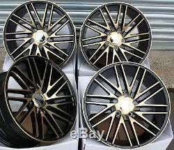 Wheels Alloy 17 Gold Bolt For Mercedes A B C E R Class Cla Viano Vito