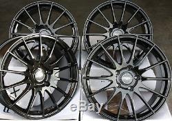 16 Noir Fox Fx004 Roues Alliage pour Mercedes A B C E R Classe G Gla Gle Vito