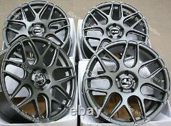 18 Gris CR1 Roues Alliage pour Mercedes Vito Viano VW Transporter Mk3 Mk4