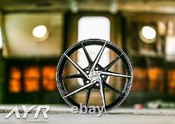 18 Roues Alliage Débit Forme Forgé Léger AYR 03 VF 5X112 pour Mercedes 2