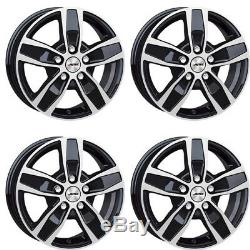 4 Jantes Autec QUANTRO 7.5x18 5x112 SWP pour Mercedes-Benz V Viano Vito