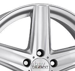 4 Jantes Dezent TG 7.5Jx16 5x112 pour Mercedes Benz A B C CLA E Viano Vito