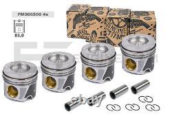 4x Piston Lot PM006500 Mercedes Sprinter Vito 2,2CDi Om 651 2007+