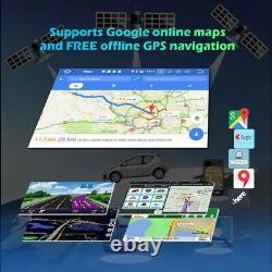 7 Android 10 GPS Autoradio for Mercedes Benz C-Class W203 S203 Viano Vito W639