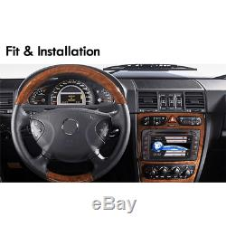 7 DAB+ DVD Car Stéréo Radio GPS Pour Mercedes Benz C/CLK class Viano Vito W203