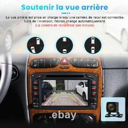 7Autoradio Pour Mercedes-Benz C/CLK/G Class W203 W209 Vito Viano DAB+DVD GPS BT