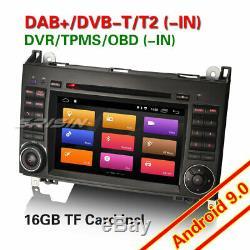 7DAB+Autoradio Android 9.0 Mercedes Class A/B Vito Sprinter Viano Vito W169 DVD