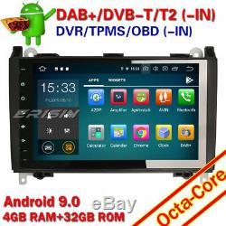 9 Android 9.0 Autoradio OBD 4G Mercedes A/B Class W169 W245 Sprinter Viano Vito