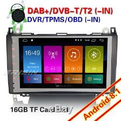 9Android 8.1 DAB+Autoradio Nav GPS Mercedes A/B Klasse Sprinter Viano Vito W639