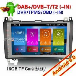 9DAB+Autoradio Android 9.0 Mercedes Class A/B Vito Sprinter Viano Vito W169 639