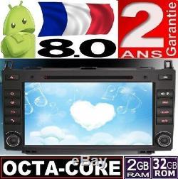Android 8.0 Mercedes A B W169 W245 Viano Vito Sprinter 8 Radio Car Voiture Gps
