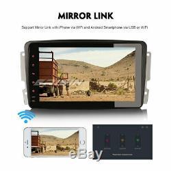 Android 8.1 Autoradio DAB+TNT 4G GPS Mercedes C/CLK/G Class W203 W209 Viano Vito