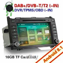 Android 8.1 CD Autoradio DAB+GPS Mercedes-Benz A/B Class Sprinter Viano Vito OBD