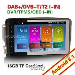 Android 8.1 GPS Autoradio Mercedes Benz C/CLK/G Class W203 W209 Viano Vito DAB+