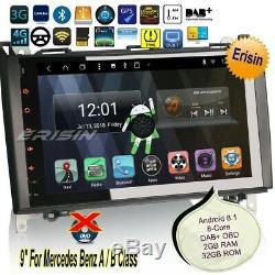 Android 8.1 TNT Mercedes Autoraido W169 W245 A B Class Viano GPS DAB+TPMS 98292
