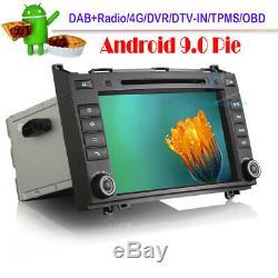 Android 9.0 Car DVD BT Wifi GPS Autoradio For Mercedes Sprinter Viano Vito W639