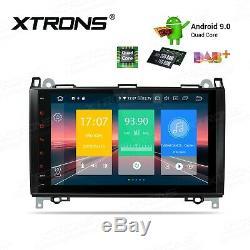 Autoradio 9 Xtrons pour Mercedes Benz A-W169 B-W245 Viano/Vito W639 Sprinter A