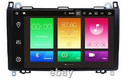 Autoradio Android pour Mercedes A B Classe Sprinter Vito Viano GPS USB