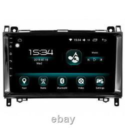 Autoradio GPS Android 10 Carplay & SIM 4G Mercedes Classe A B Viano Vito Sprinte
