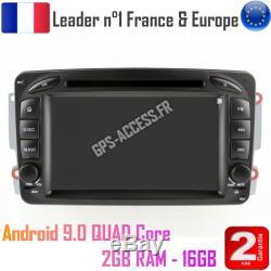 Autoradio GPS Android 9 Mercedes classe G classe C VIANO VITO CLK
